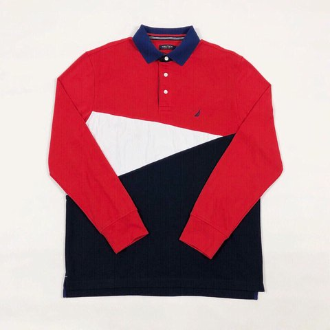 c1ff9cdd @spice_uk. 6 months ago. United Kingdom. Vintage Nautica rugby / polo shirt.  Long sleeve.