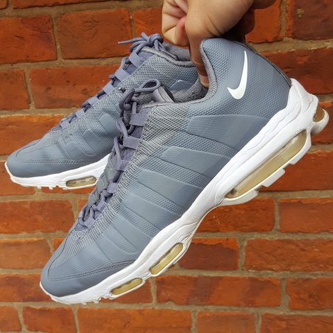 4635ad03e7 @joe_crisp. 8 months ago. London, Greater London, United Kingdom. Nike Air  Max 95 Ultra Essential grey trainers.