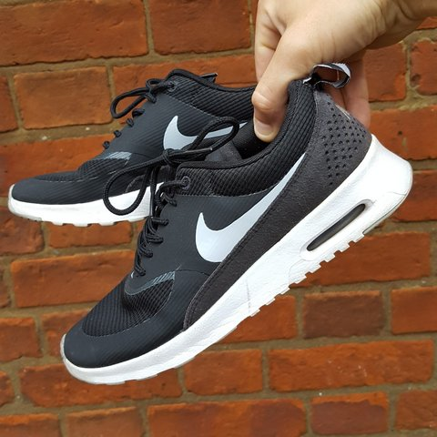 store nike air max thea black and white trainers 468c0 d66d0