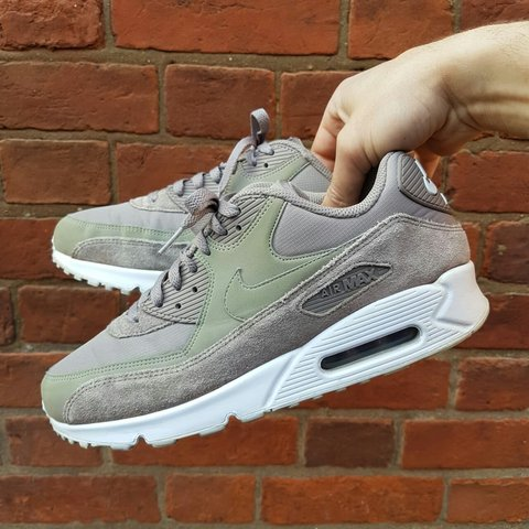 finest selection a2472 687f7  joe crisp. 4 days ago. Greater London, United Kingdom. Nike air max 90  essential sepia stone brown trainers.