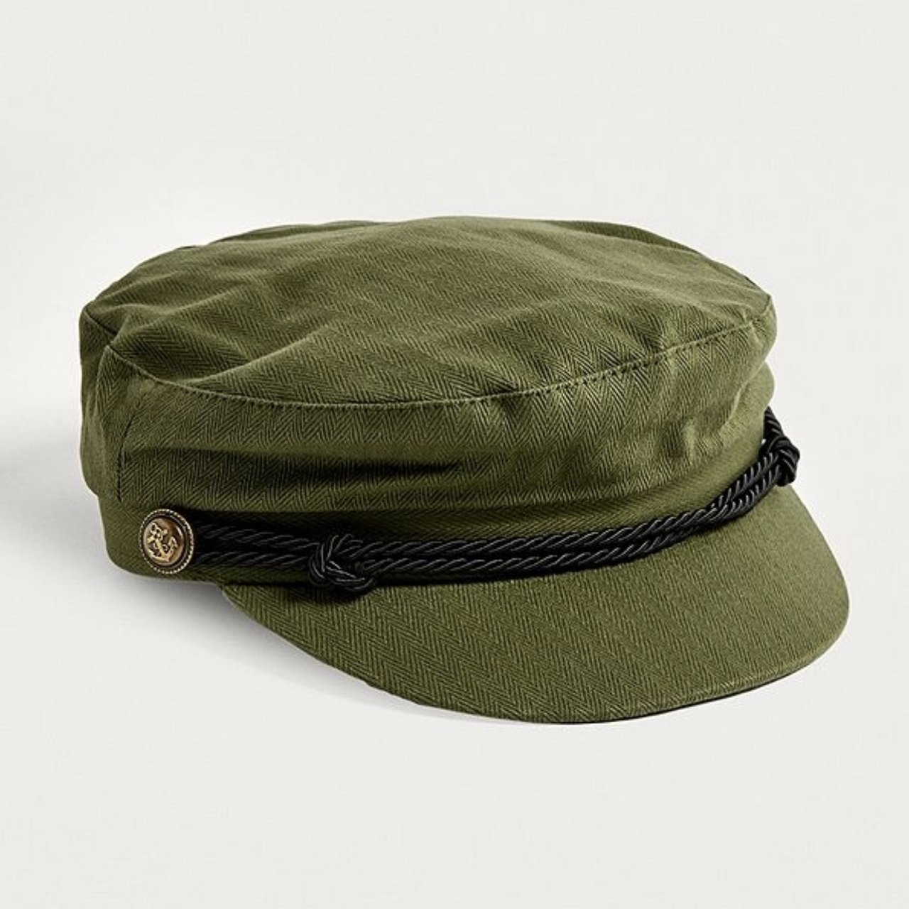 URBAN OUTFITTERS KHAKI BAKER BOY CAP   perfect condition     - Depop 2932a8acdcc5