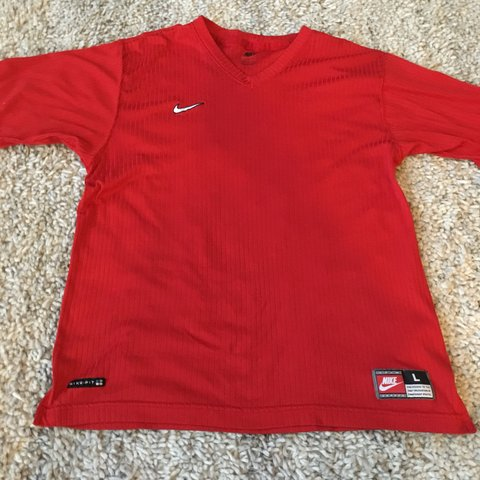 29528da3 @ncumm2. 9 months ago. Astoria, United States. Red Ribbed Vintage Nike tee!
