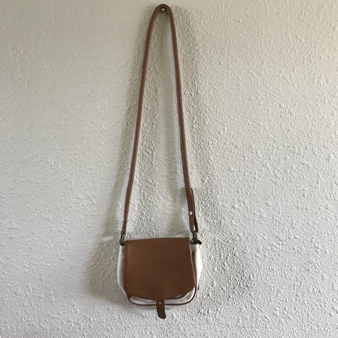 NWT Armani Exchange Canvas Leather Purse. Never used 9ace2d01d83dc