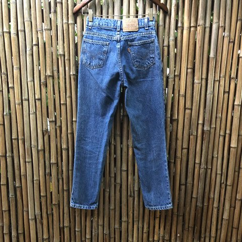 affb367a7b These are really cute orange tab Levi s jeans that are kids - Depop
