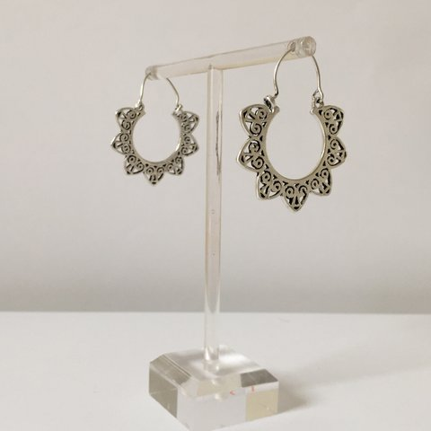 72e411c34 Brand new silver earrings - At India Authentic, we the of - Depop