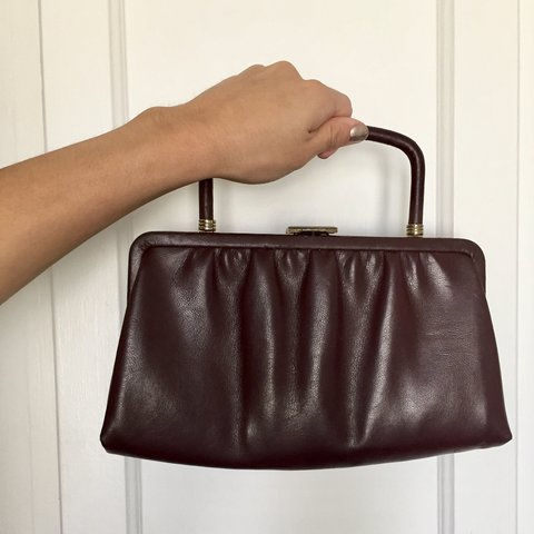 Vintage thrifted Rare 1960s Ande handbag 👜 Rectangle to - Depop 3e59f41dfe913