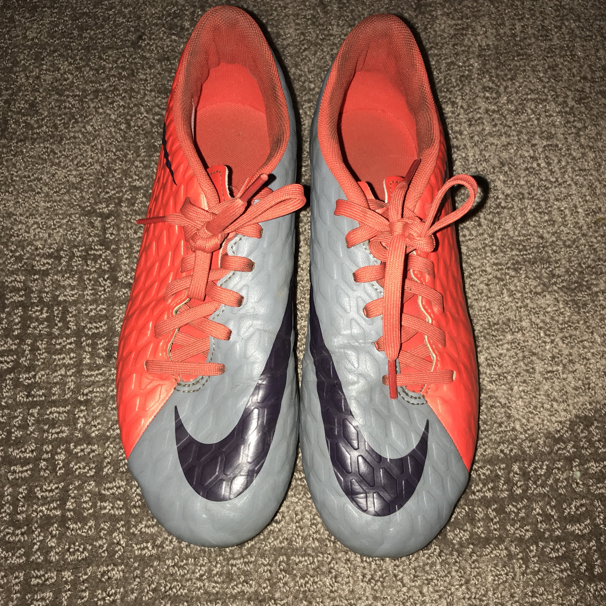 Nike soccer cleats. Used for a season
