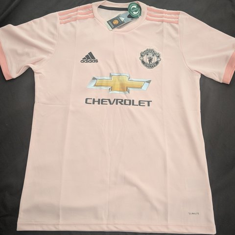 abfd90ccb84 The all new Manchester United Pink Third Jersey For The On - Depop