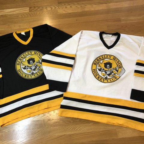 4a1a9530b @harborvintage. 21 days ago. Gig Harbor, United States. Vintage 90s  Berkeley Hockey jerseys.