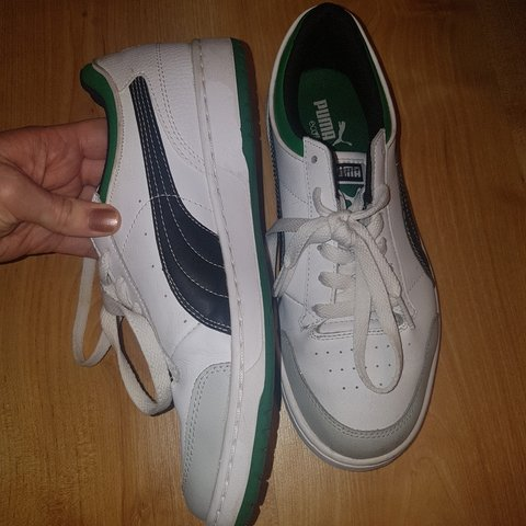 4ecfdca7abe8b PUMA leather trainers