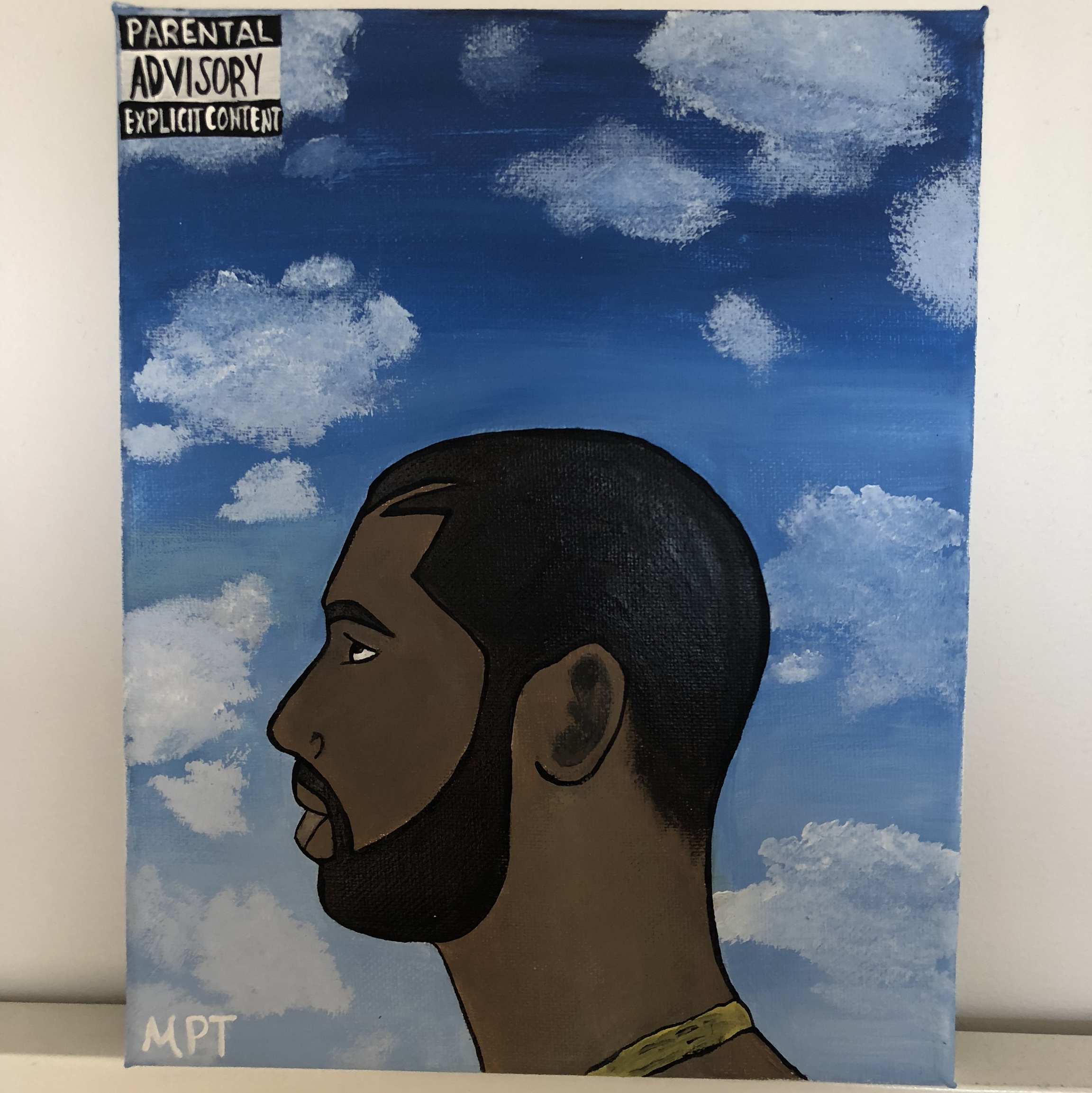 Drake Nothing Was the Same album cover painting     - Depop
