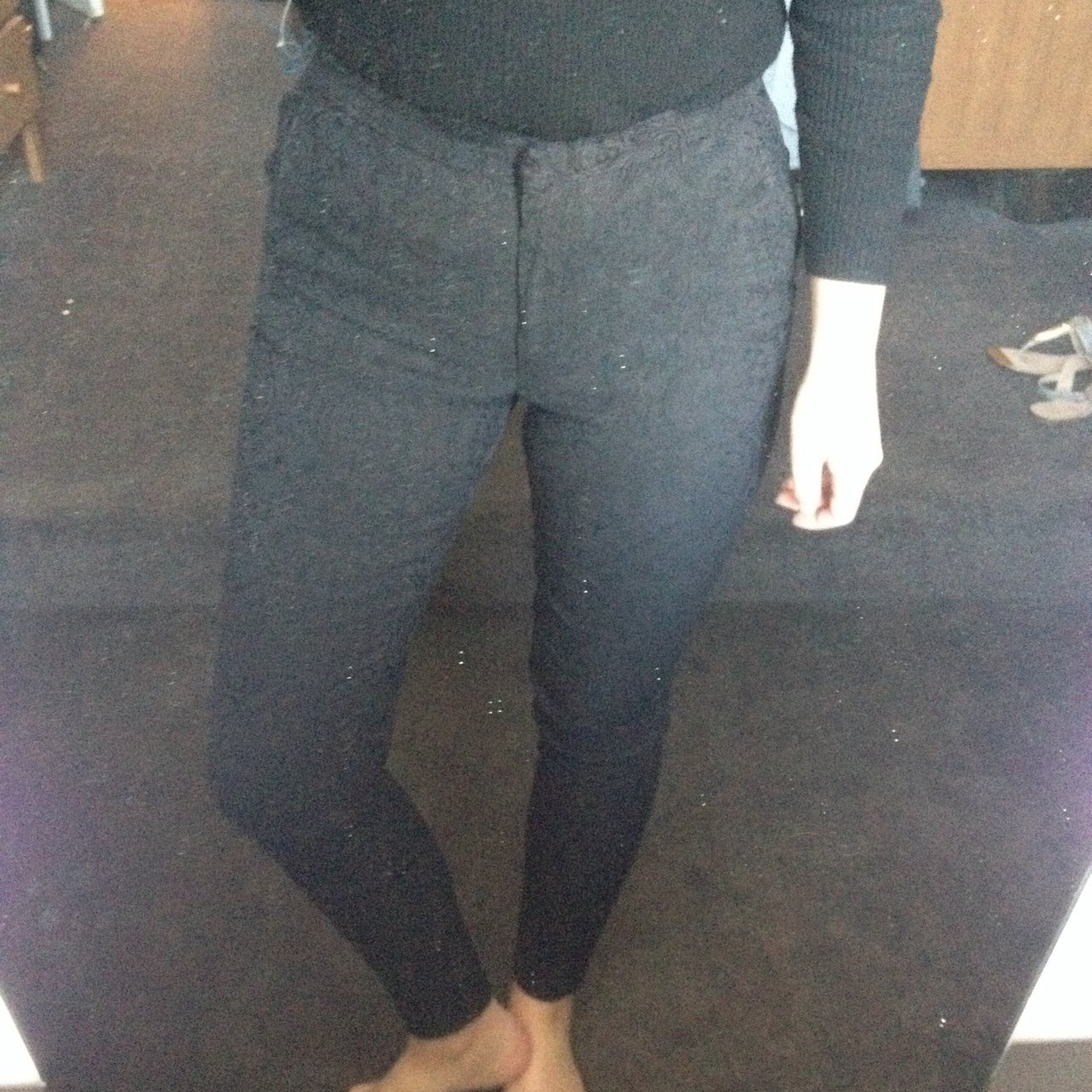 36a2ff78616f Paisley black Primark trousers