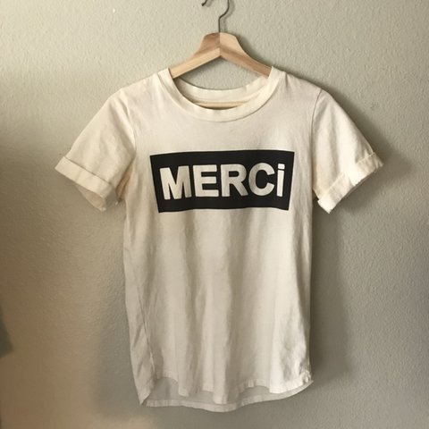 b1694cb77 @axsn. 4 months ago. Placentia, United States. anthropologie merci graphic  tee top t shirt