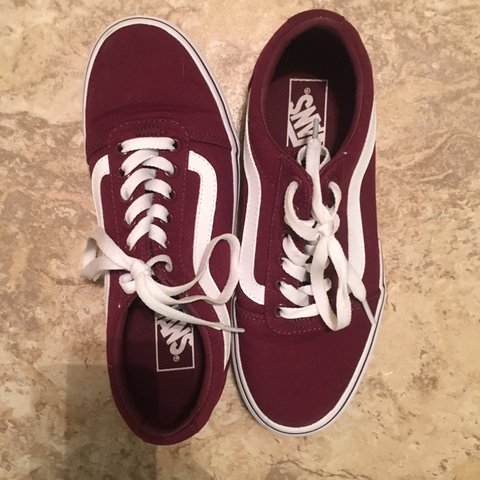 9ccb047ec2a5 @analeigh5678. 3 months ago. Austin, United States. Maroon Old Skool low  top Vans