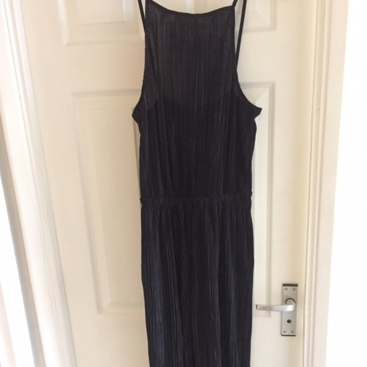 aec2eb95d645 New Look  Cameo Rose  pleated black jumpsuit. Perfect for a - Depop