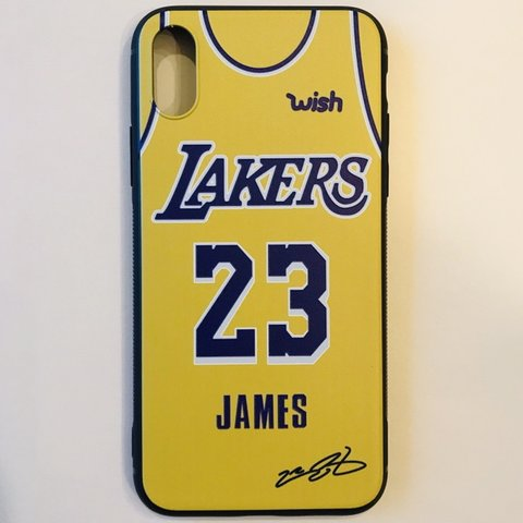 7c90699a6b4 Lebron James LA Lakers #23 iPhone X/XS Case This case fits - Depop