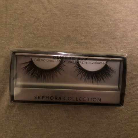 235e5c37f6d Sephora collection lashes Demure #24 Full volume lashes to - Depop