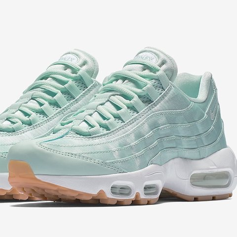 5316c74dc8 🧚🏽 ♀ 🧚🏽 ♀ Nike air max 95 95s in turquoise / sky light ...