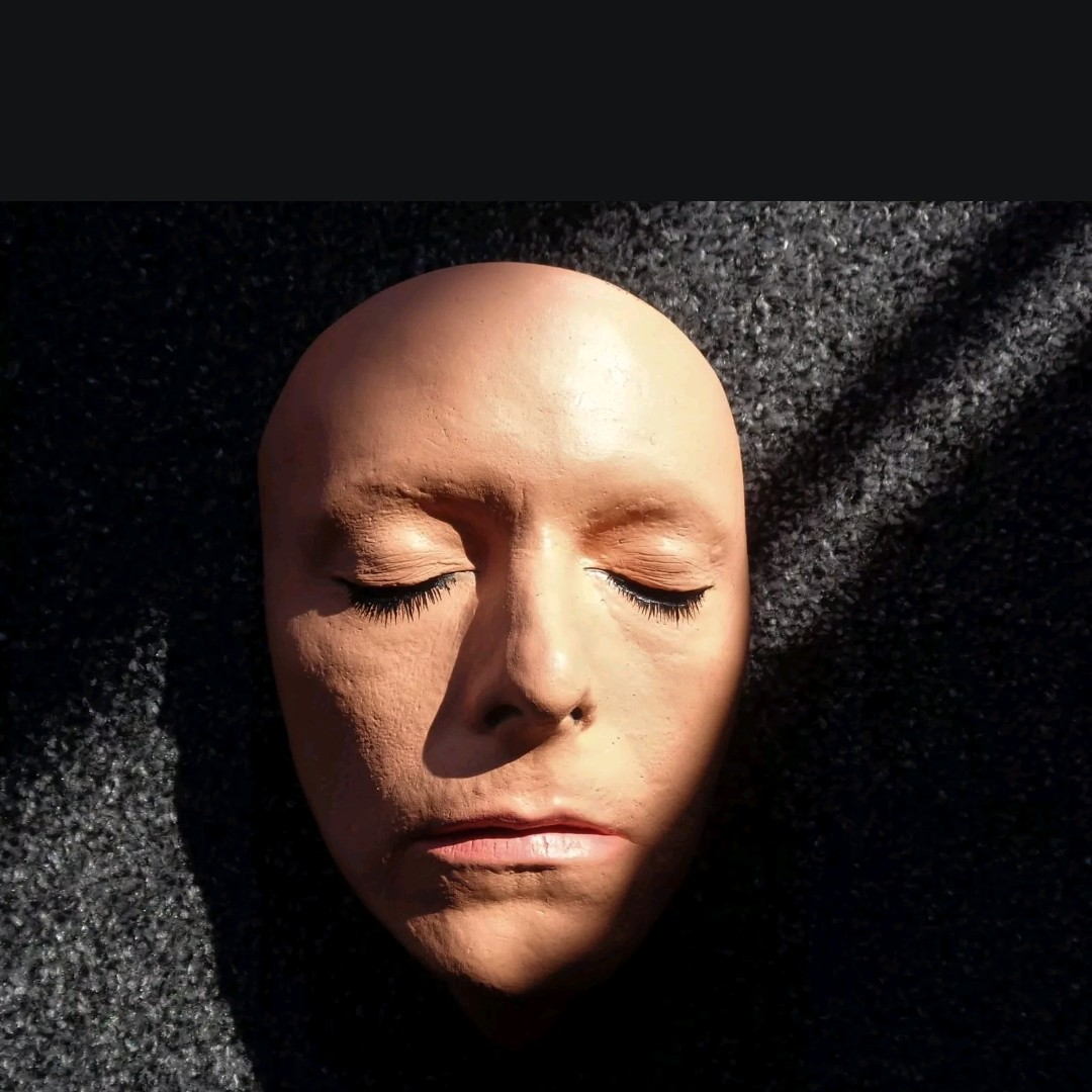 Reproduction Life Face Cast Of David Bowie  Casted    - Depop
