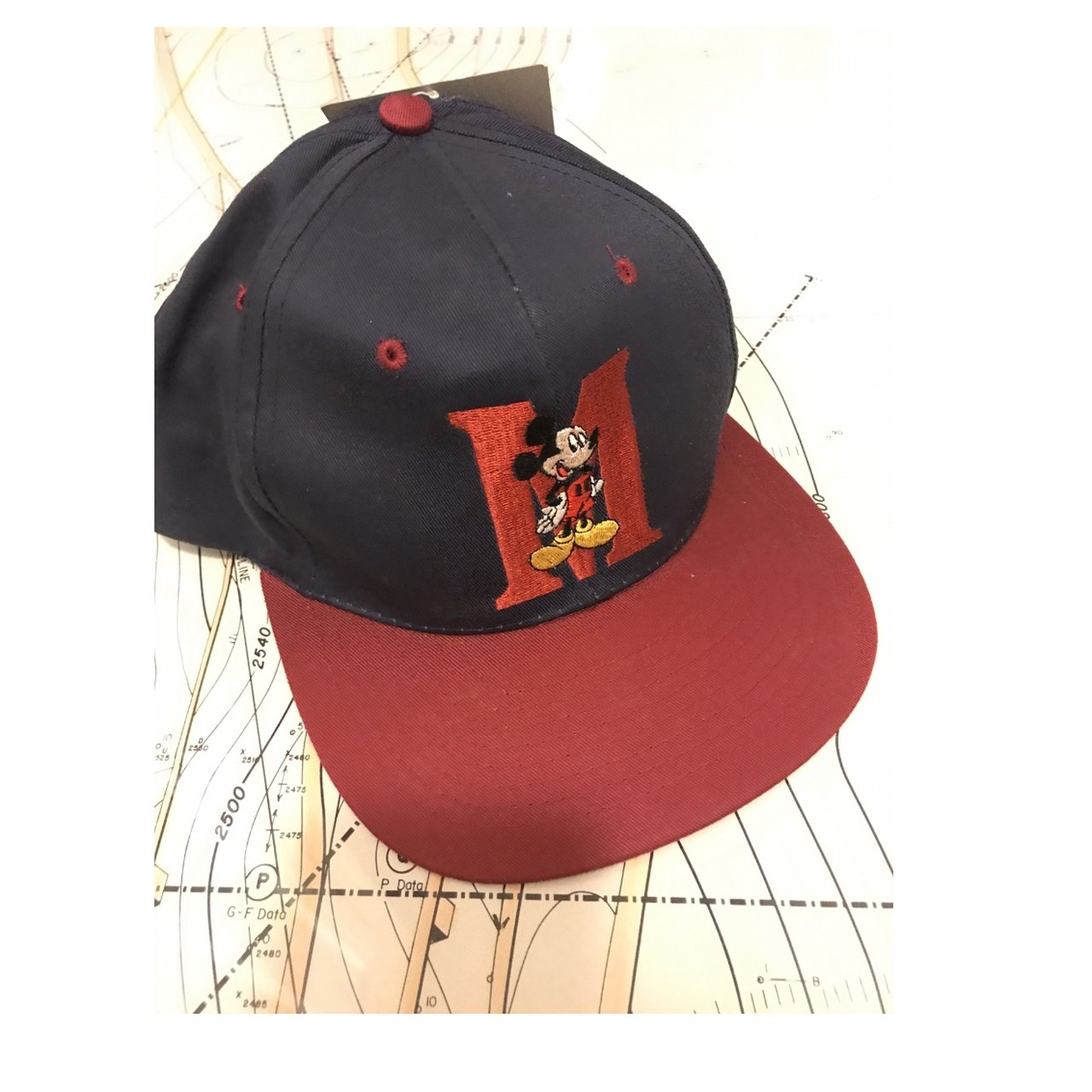 74f4d88ad0c Mickey Mouse Embroidered Vintage Disney Hat with Tag Brand  - Depop