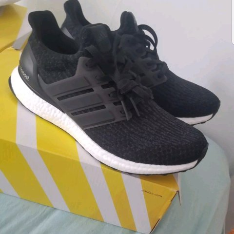 9b9504bcfef03 Adidas ultra boost 4.0 size 9 never worn brand in box - Depop