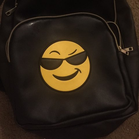 12eab32e2135 Cool guy backpack 😎🎒 Look at this fucking smug ass face... - Depop