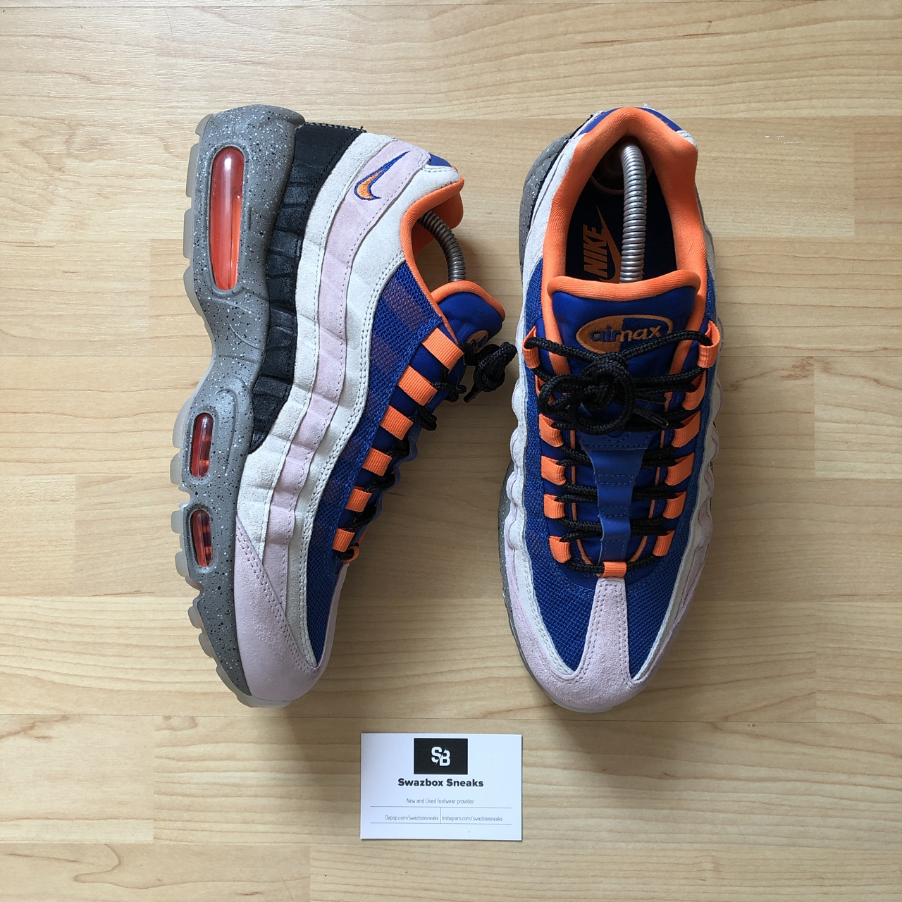 finest selection 28733 898d5 Nike Air max 95 - Acg mowabb - Uk 8 Used Lightly,... - Depop