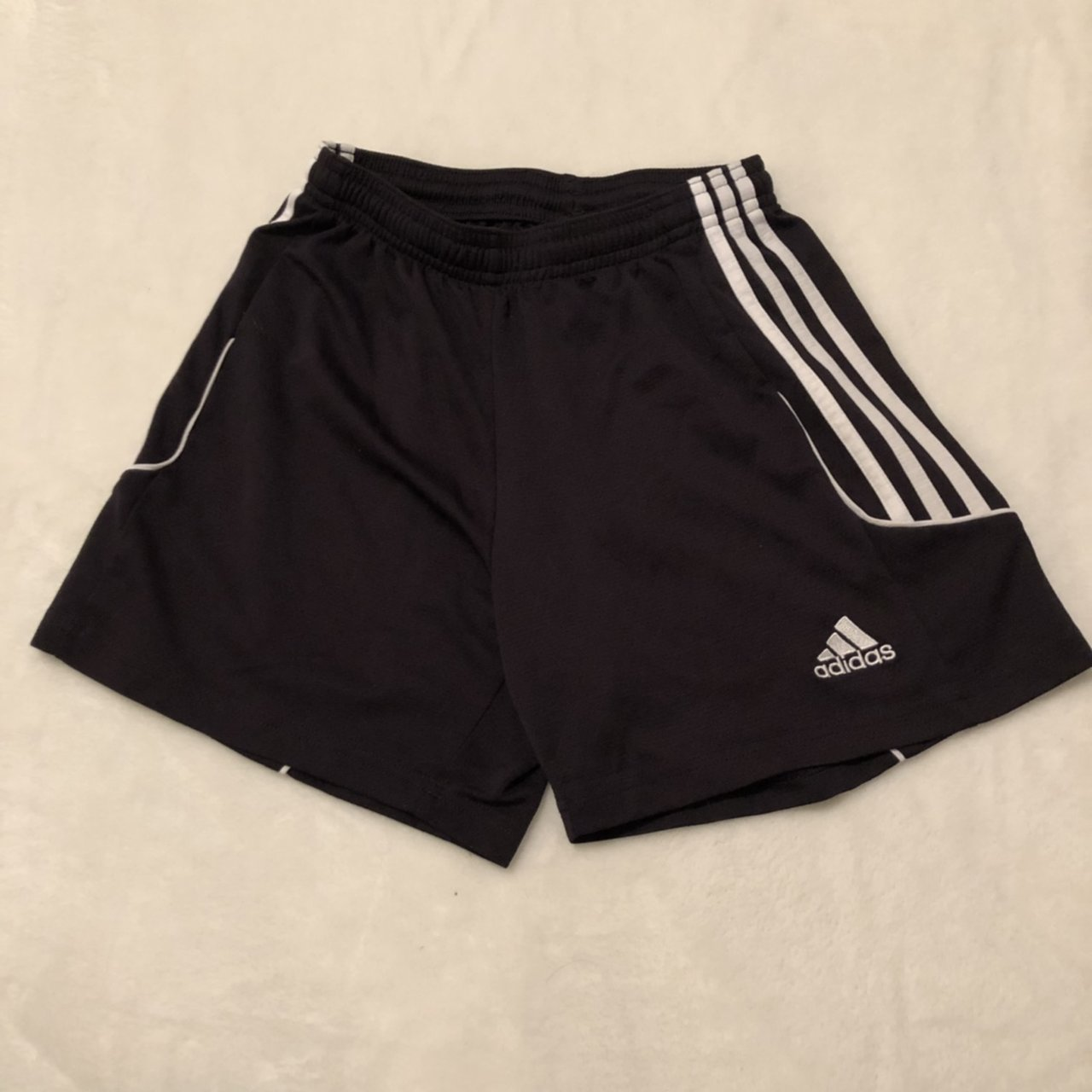 Stripes Climalite Black Shorts Wore With For Depop White Adidas I 7Fx6wqCC