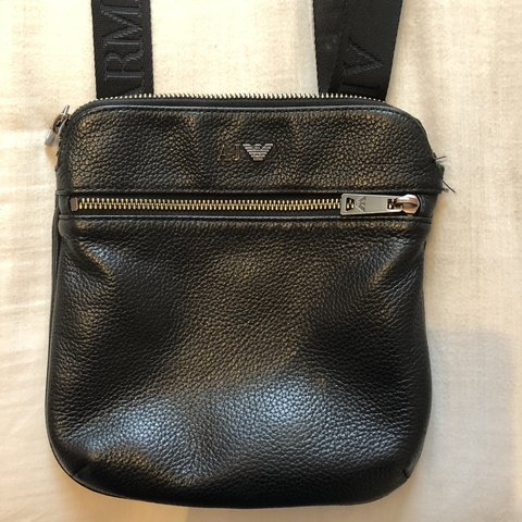 92851a2ef Armani bag for sale nothing wrong with it apart from tear on - Depop