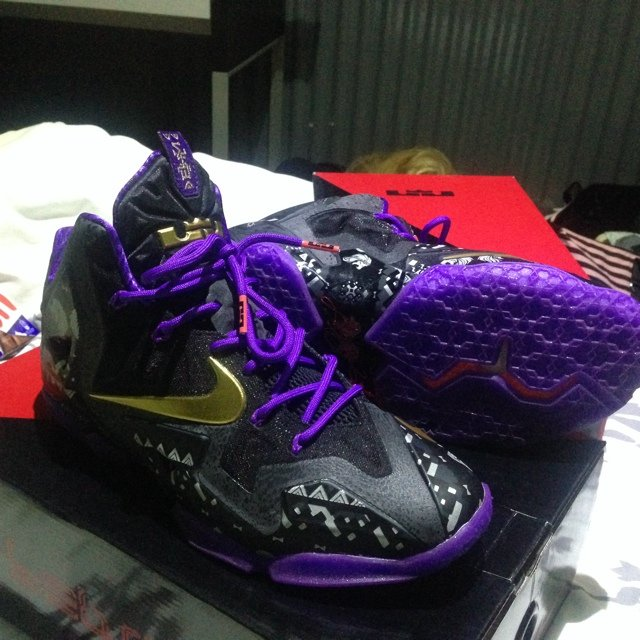 Nike Lebron 11 Black History Month Size 8uk 1010 Condition Depop