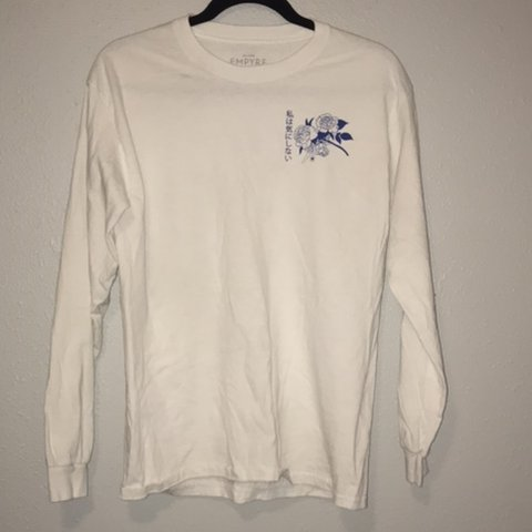 """4cb5c7226 @_vaalleria. 6 months ago. Los Angeles, United States. long sleeve white  shirt """"In memory of when I cared"""""""
