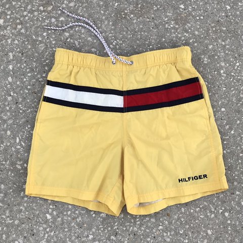 313d8bf5ba @charleyj88. 4 months ago. Kissimmee, United States. Vintage Tommy Hilfiger  Swimming Trunks FREE SHIPPING