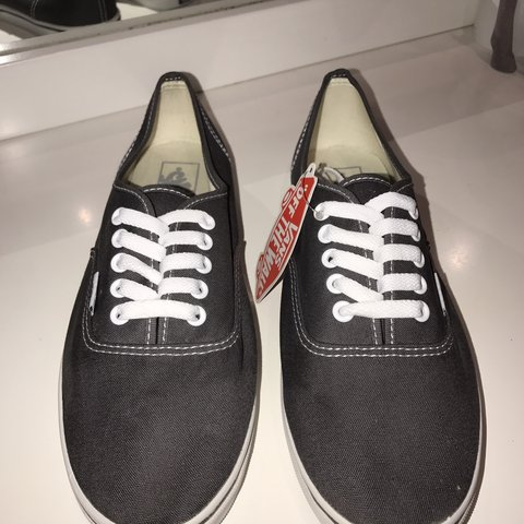 fa94f7775c78 These Vans  Authentic  sneakers are in a size 10 US AUS. and - Depop