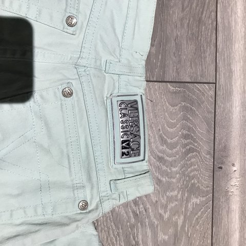 83d359719 Classic Versace jeans Very small so would fit size as wear - Depop