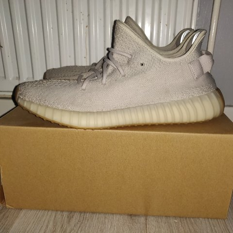 922351bf83ac4 Adidas yeezy sesame size UK 10 Really good condition only a - Depop
