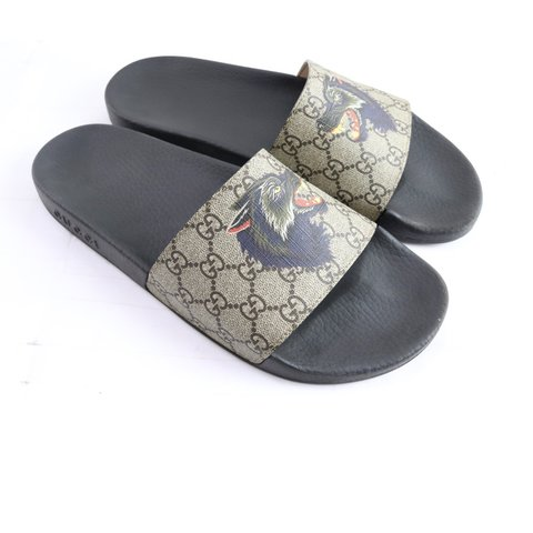 Londizzleee 10 Months Ago Laurel United States Authentic Gucci Supreme Wolf Slides