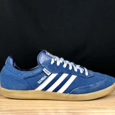 bb42afaed20b Adidas shoes men s size 12 samba hemp shoes so they are eco - Depop