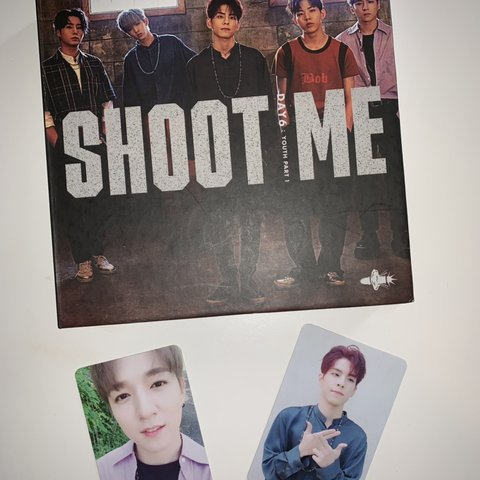 DAY6 SHOOT ME: YOUTH PART 1 ALBUM Has been played a couple