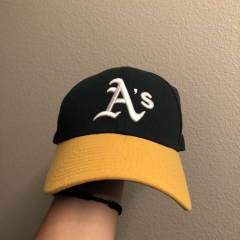 709bcd18 Oakland A's dad cap / baseball hat! in good condition and 🤗 - Depop