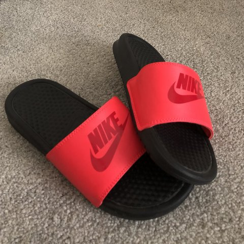 c73b2b803d2f22  emmabrown923. 8 months ago. United States. Coral Nike slides. Never worn  in PERFECT condition. Youth size 6 ...