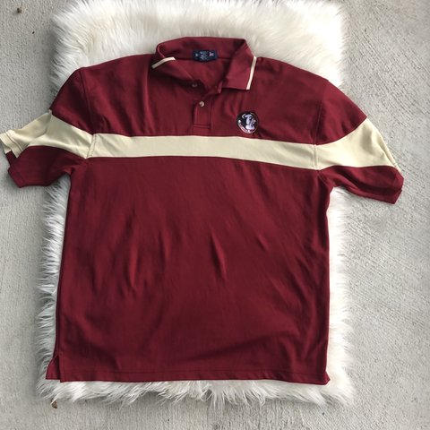 c3f6cbc160a Fresh lightweight Florida State University Gameday Polo, is - Depop