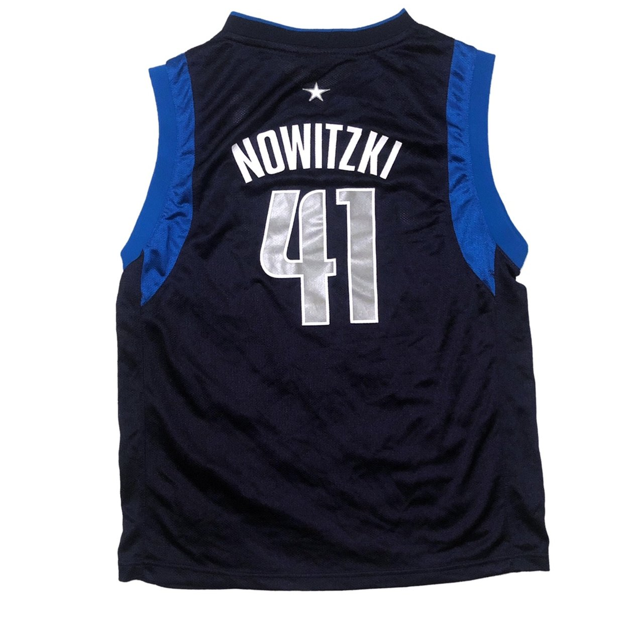 Official Reebok Dirk Nowitzki Jersey size youth large or XS. - Depop 80b8e4360