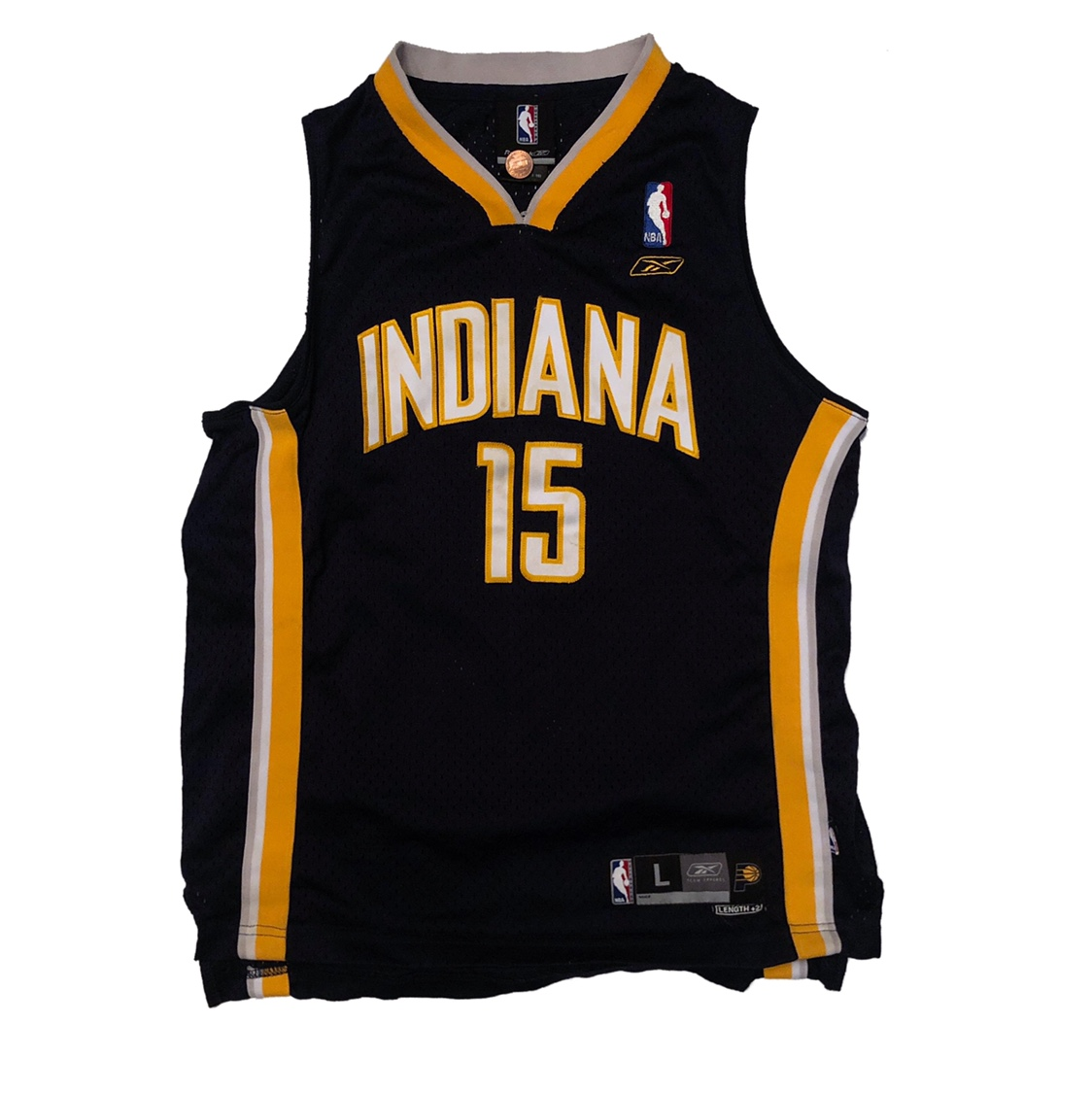 promo code db8c2 c06b0 Official Reebok Indiana Pacers Ron Artest Jersey... - Depop