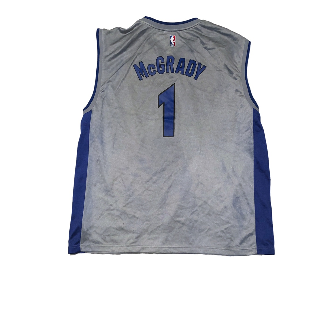size 40 097e5 d9530 Official Reebok Orlando Magic Tracy McGrady Jersey... - Depop