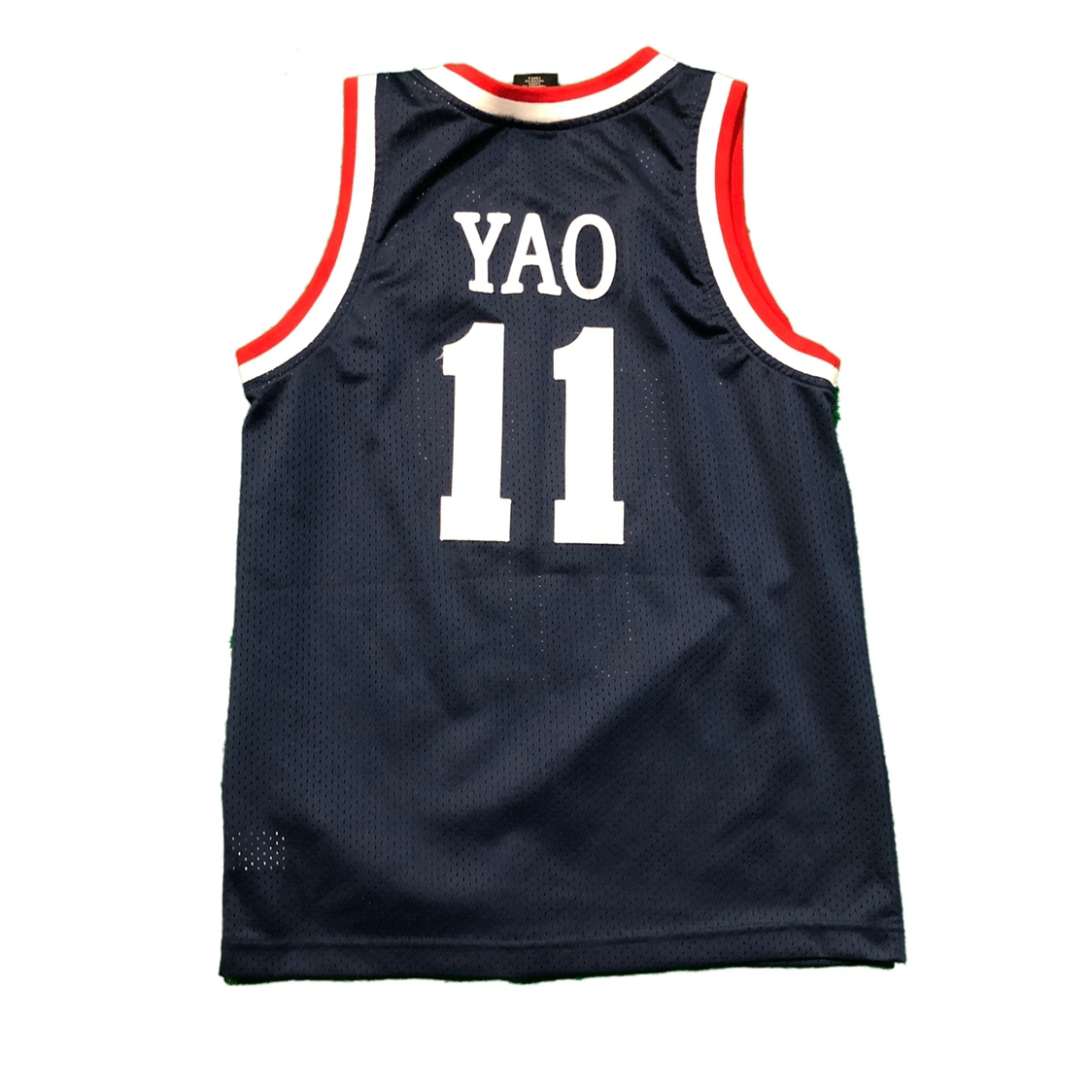 competitive price bf2c1 2c2d0 90s Nike Yao Ming Houston Rockets jersey size youth... - Depop