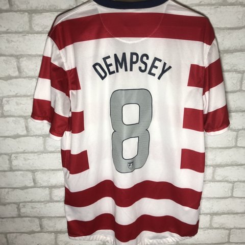 b80f3b69c @slayfinds. last month. Gainesville, United States. Official Nike Team USA  Clint Dempsey soccer jersey size ...