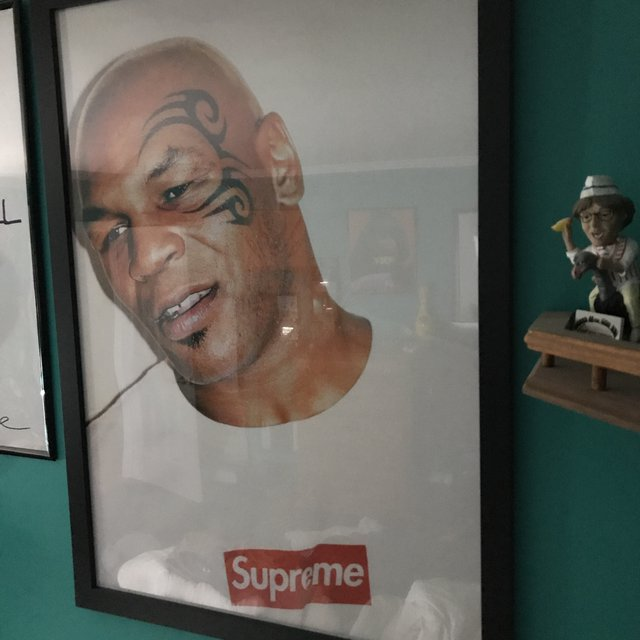 Mike Tyson X Supreme Poster Authentic And Rare Depop