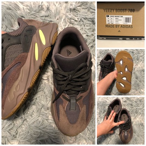 0e67ec164f1a6 Yeezy 700 size 6 men s fit 7 women s. I bought them from I m - Depop