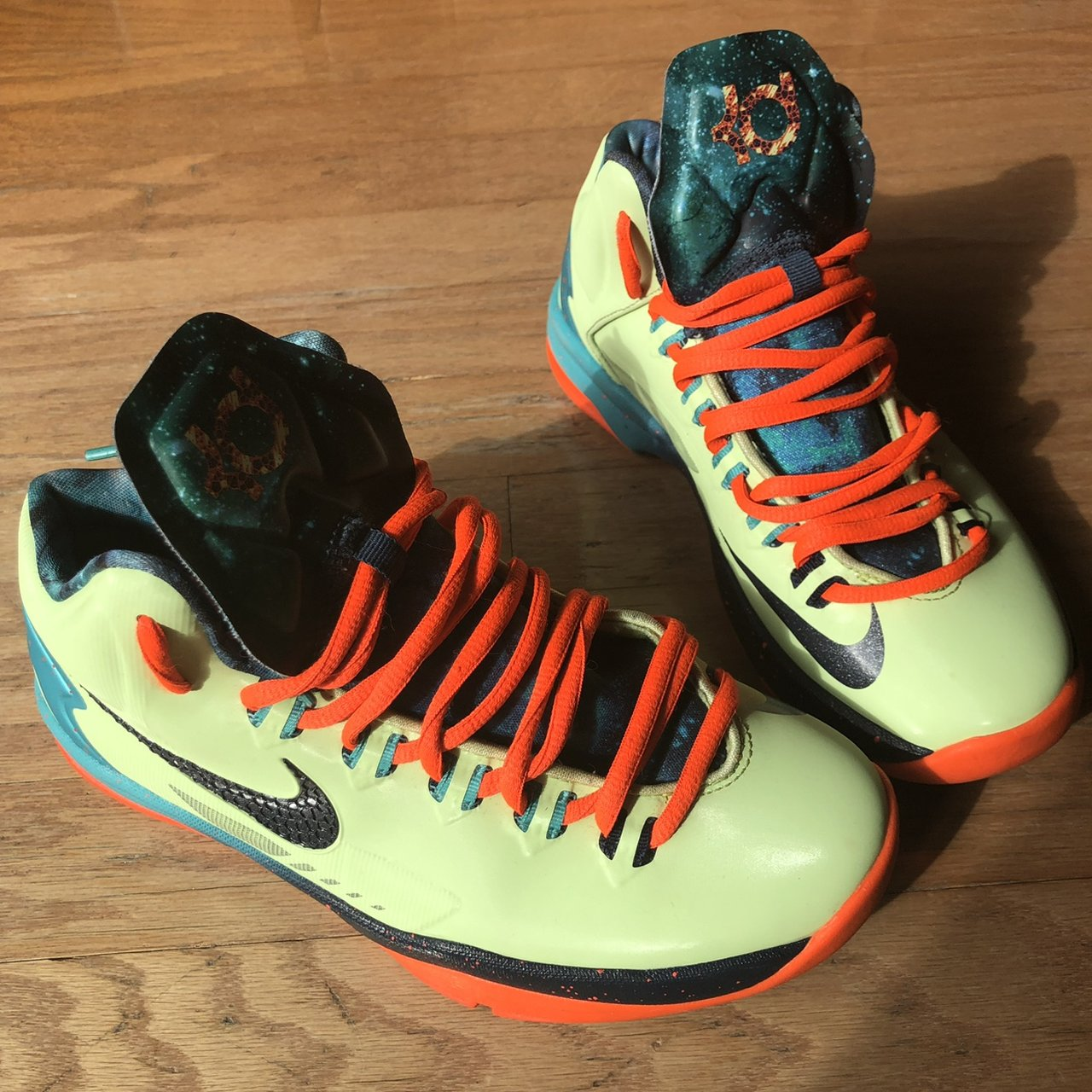 """85953f58d96d19 Nike KD 5 All-Star """"Area 72"""" 5Y Condition  Great  nike  kd - Depop"""