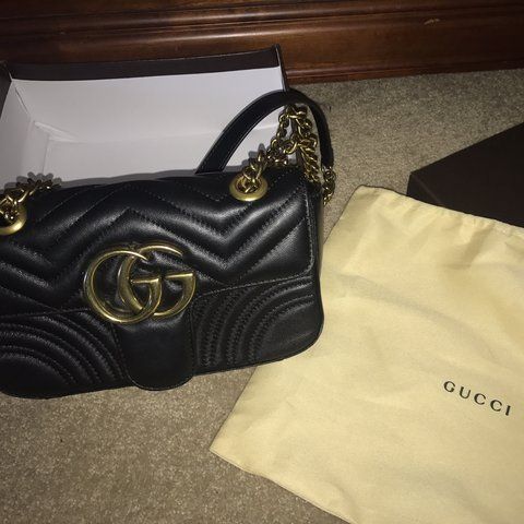 57446cc49c3b @breezybabe95. 9 months ago. Edmonds, United States. Gucci GG Marmont  Handbag Brand New Comes with duster bag ...